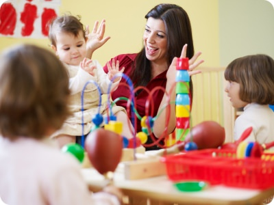 Childcare centers who develop their workers receive several benefits